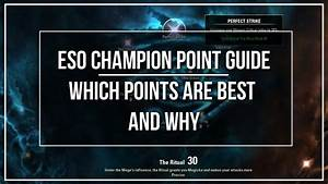 Eso Champion Point Guide
