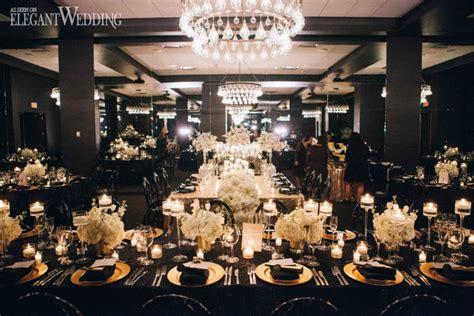 black and gold wedding inspiration elegantwedding ca