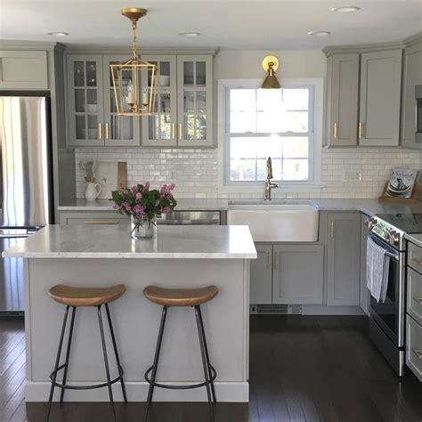 lewis kitchen furniture gray kitchen cabinets with lewis dolan brass bar pulls