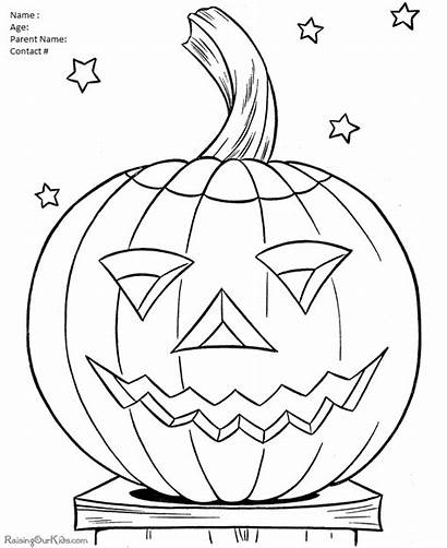 Halloween Colouring Contest Coloring Pumpkin Pages Dental