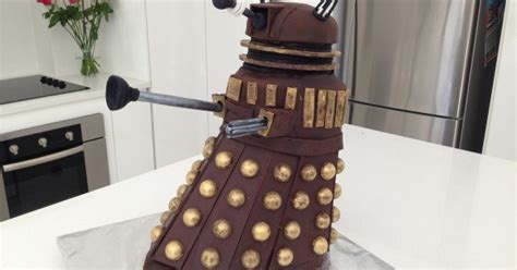 howtocookthat cakes dessert chocolate dr  dalek
