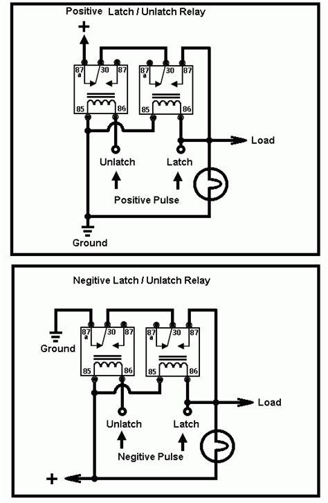 wiring diagram latching relay 12v latching relay wiring diagram 33 wiring diagram