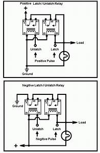 Push Button Latching Relay Wiring Diagram