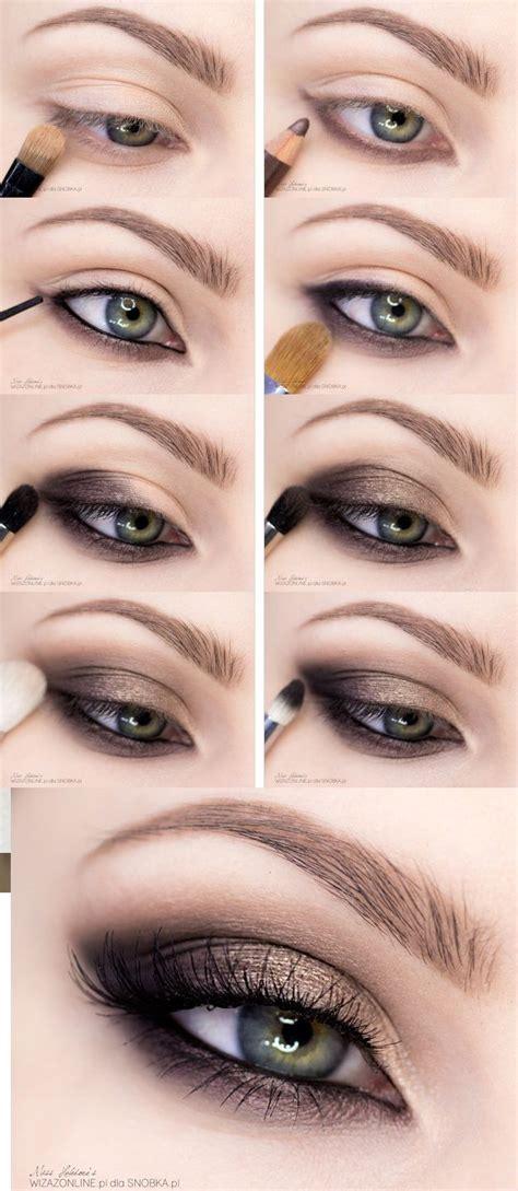 easy step  step smokey eye makeup tutorials  beginners styles weekly