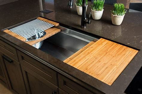 galley ideal workstation  large stainless steel