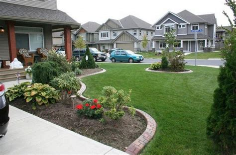 landscaping designs small yard patio front house
