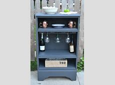 How To Build A Bar Out Of A Dresser To Serve Drinks At