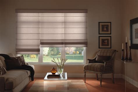 Roman Shades : Custom Made Fabric Shades