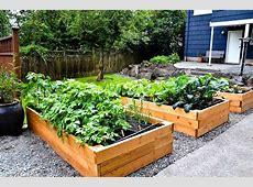 Raised Bed Vegetable Garden Plans Garden Landscap 4x8