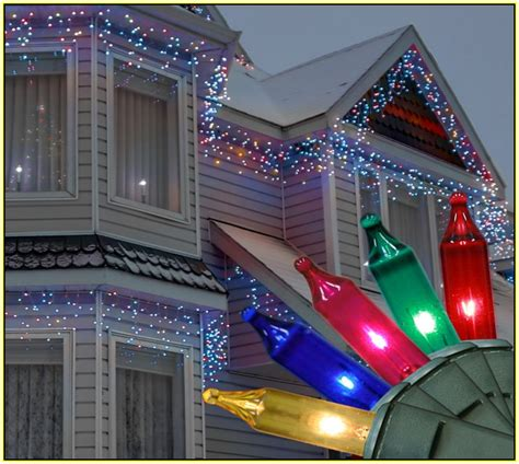 multi color icicle christmas lights princess decor