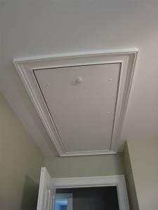 house tour guest bedroom between weekdays With attic entry door