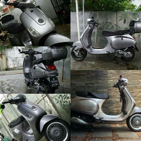 vespa lx modified with 946 wheel vespa lxv seat bar end mirror etc vespa vespalx 150