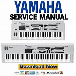 Yamaha Mo6   Mo8 Service Manual  U0026 Repair Guide
