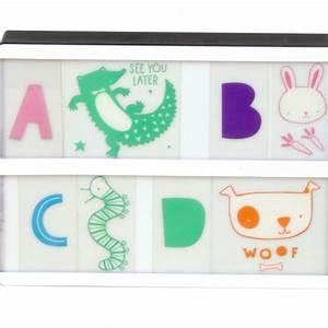 Lettre Pour Lightbox : lettres pastel pour lightbox ~ Teatrodelosmanantiales.com Idées de Décoration