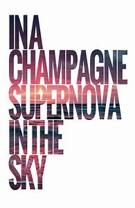Oasis Champagne Supernova (page 2) - Pics about space