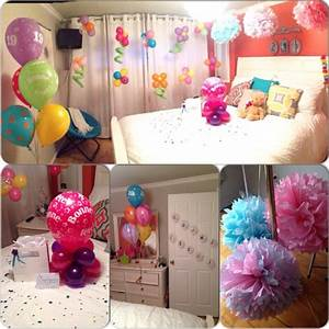 Room decoration as a surprise for my best friend's ...