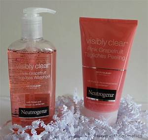Neutrogena Visibly Clear Waschgel : neutrogena visibly clear pink grapefruit im test bei ~ Avissmed.com Haus und Dekorationen