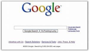 Old Google Homepages Still Live