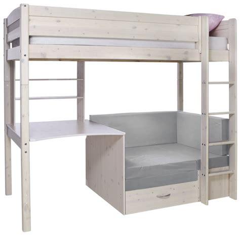 hoogslaper met sofabed bureau trendy dreamland