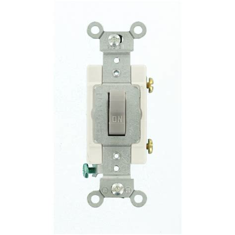 Leviton Light Toggle Switch Amp Commercial Grade Single