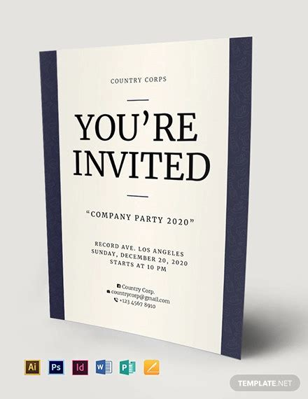 40+ Invitation Flyer Designs Word PSD AI Pages