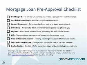5 things you need to be pre approved for a mortgage loan With documents needed for pre approval for mortgage