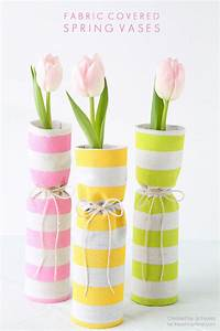 Fabric Covered Spring Vases - Love Grows Wild