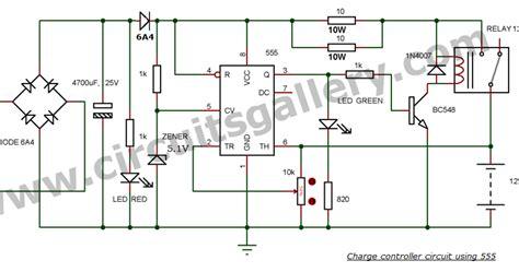 rangkaian battery charger 12v dengan auto cut kumpulan ilmu teknologi