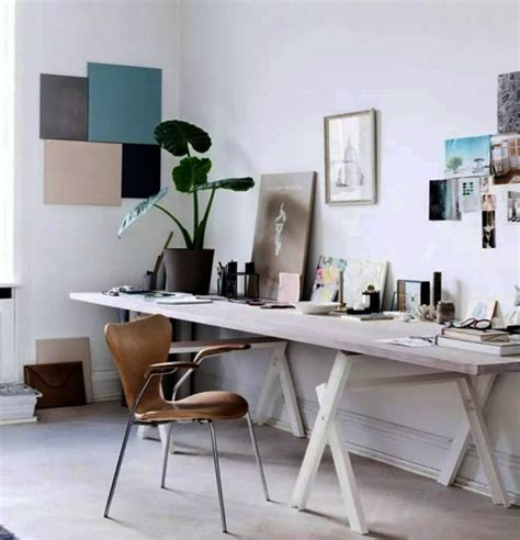 minimalist home office design black n white decorating with color for home office designs in minimalist style