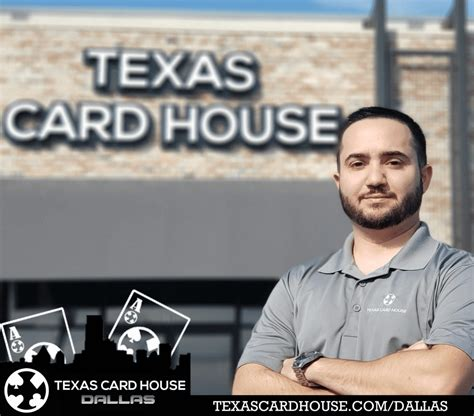 Hours may change under current circumstances Texas Card House opens Dallas location   Ante Up Magazine
