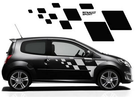 renault twingo side stickers also fit clio megane ebay
