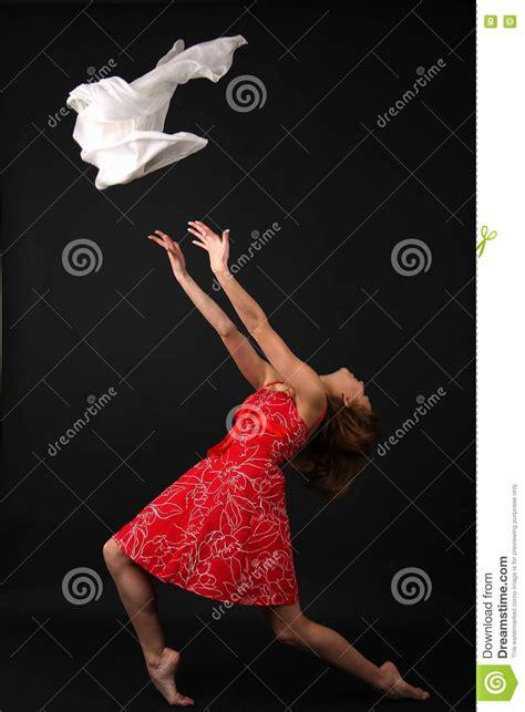 Elegant Young Flexible Woman Stock Photo  Image 9334380