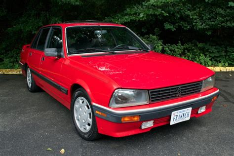 Peugeot Cars For Sale In Usa by No Reserve 1989 Peugeot 505 Turbo 5 Speed For Sale On Bat