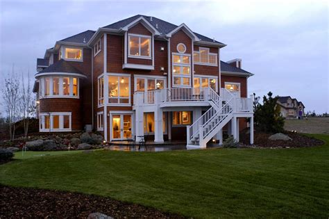 open house plans with large kitchens shingle style house plans a home design with
