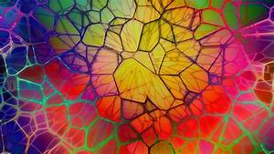 Digital, Art, Abstract, Colorful, Cgi, Geometry, Lines, 3d, Circle, Wallpapers, Hd, Desktop, And