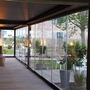 Veranda Rideau Pergola : pergola bioclimatique pergola aluminium pergola lames orientables ~ Melissatoandfro.com Idées de Décoration