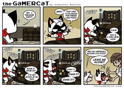 Gamercat Locksmith Gamer Cat Comic Thegamercat Fr