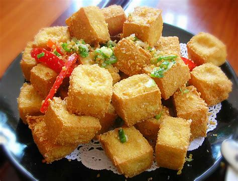fried tofu recipes spicy garlic and ginger fried tofu 1mrecipes