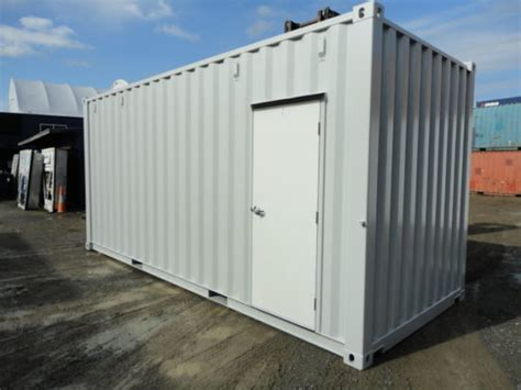 man door containers modified refurbished