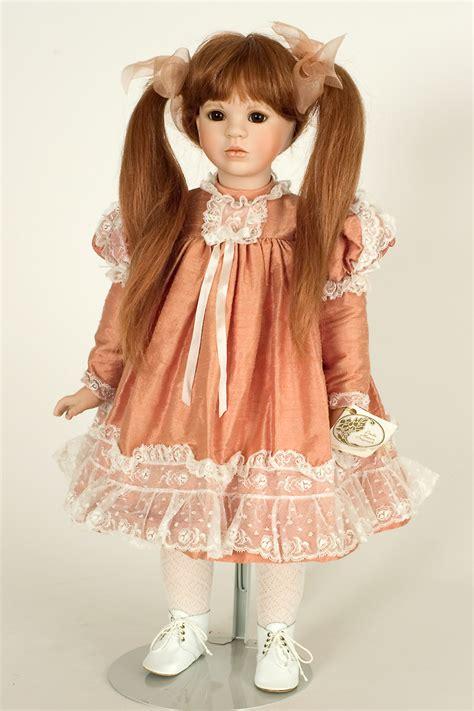 Tess  Porcelain Soft Body Art Doll By Linda Mason