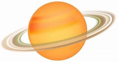 Saturn Clip Clipart Saturno Transparent Planets Svg