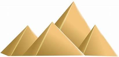 Pyramid Clip Transparent Clipart Pyramids Egyptian Cone