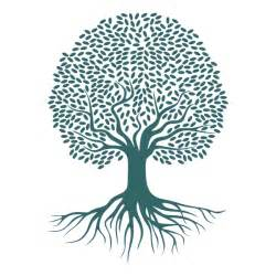 tree roots svg cuttable design