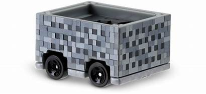 Minecraft Cart Wheels Hotwheels Mattel Ride
