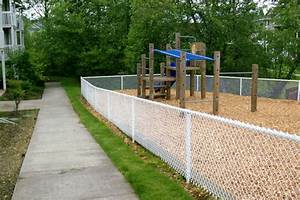 chain link fence installation company bockman group With chain link fence paint colors