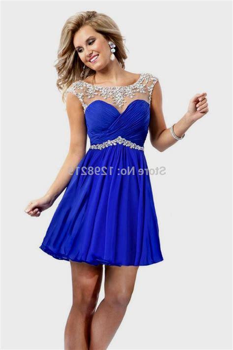 Cute Royal Blue Short Prom Dresses