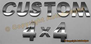 autobadgez badges emblems 3d chrome letter kits and With chrome letters for cars