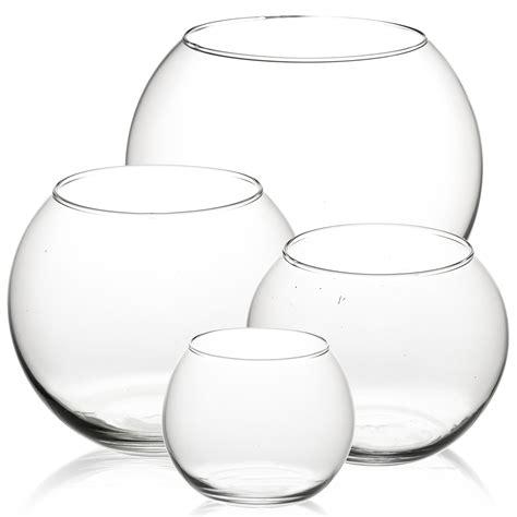 bowl vase pasabahce glass flower vase fish bowl balloon