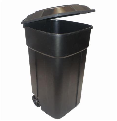 kitchen recycle bins on wheels
