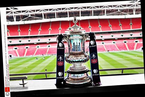 What time is FA Cup final? Date, kick-off CONFIRMED, TV ...